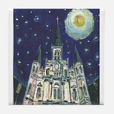 New Orleans Church Tile Coaster