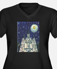 New Orleans Church Plus Size T-Shirt