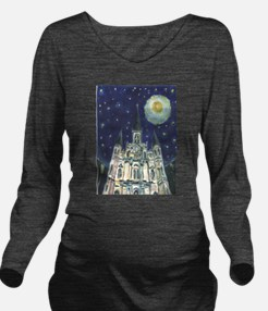 New Orleans Church Long Sleeve Maternity T-Shirt