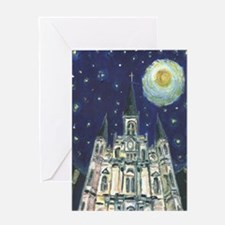 St. Louis Cathedral Cards (6) Greeting Cards