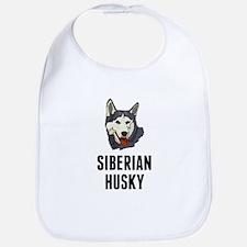 Siberian Husky Bib