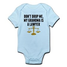 Dont Drop Me My Grandma Is A Lawyer Body Suit