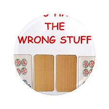 """Cute Mahjongg 3.5"""" Button"""