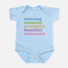 Swimmer Body Suit
