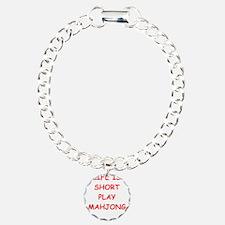 Unique Mahjong Bracelet