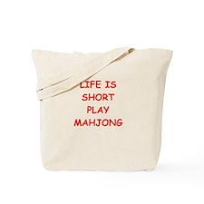 Funny Mah jong Tote Bag