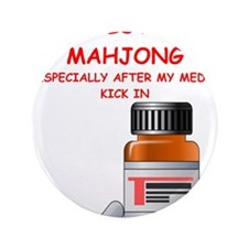 "Cool Mahjongg 3.5"" Button"