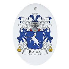 Bianca Oval Ornament