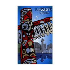 Vancouver Souvenir Rectangle Decal