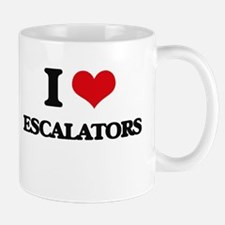 I love Escalators Mugs