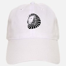 Chrome Lion Baseball Baseball Cap