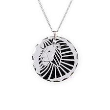 Chrome Lion Necklace