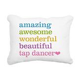 Tap Rectangle Canvas Pillows