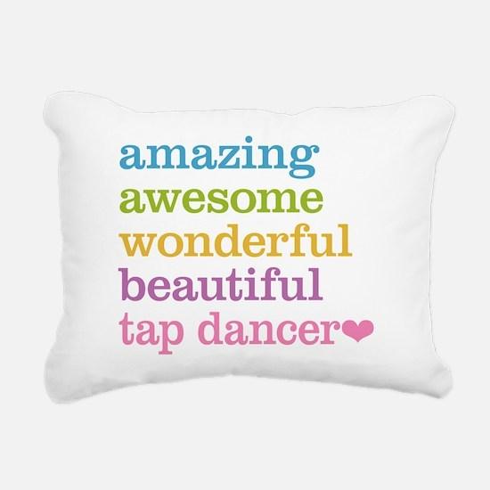 Tap Dancer Rectangular Canvas Pillow