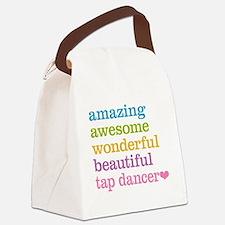 Tap Dancer Canvas Lunch Bag