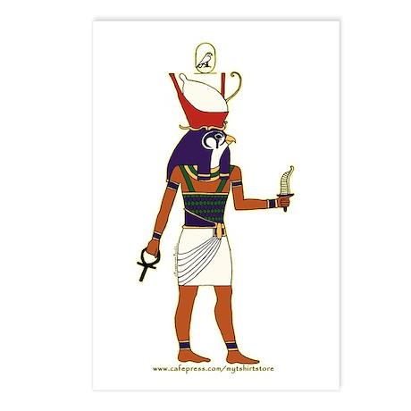 Horus Hieroglyph Postcards (Package of 8)
