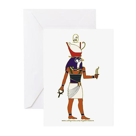 Horus Hieroglyph Greeting Cards (Pk of 10)
