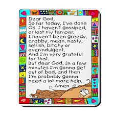 Dear God Mousepad