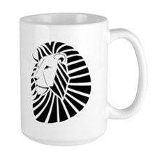 Chrome Lion Mugs