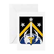 USAF 1st Space Battalion Emblem Greeting Cards