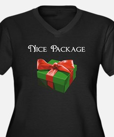 Nice Package Christmas Present Plus Size T-Shirt