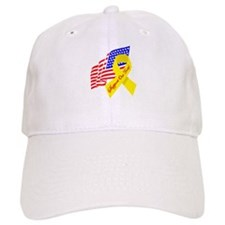 Support Our Troops US Flag Baseball Cap