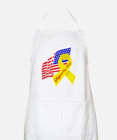 Support Our Troops US Flag BBQ Apron