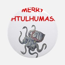 a chtulhu christmas Ornament (Round)