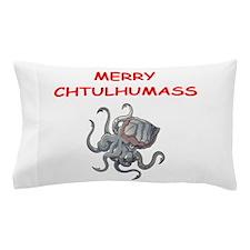 a chtulhu christmas Pillow Case