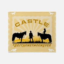 Castle Beckett Throw Blanket
