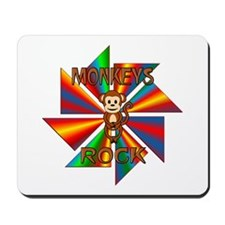 Monkeys Rock Mousepad
