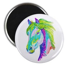 Rainbow Pony Magnet
