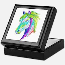 Rainbow Pony Keepsake Box