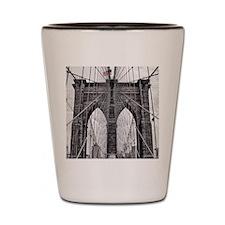 Unique Brooklyn Shot Glass