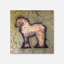 """Gypsy Proverb Square Sticker 3"""" x 3"""""""