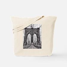 Cute Brooklyn bridge Tote Bag