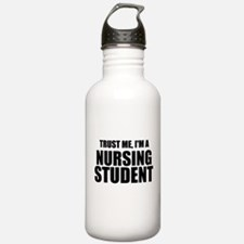 Trust Me, I'm A Nursing Student Water Bottle