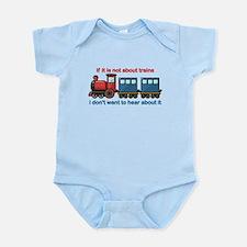 Train Talk Infant Bodysuit