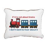 Train Rectangle Canvas Pillows