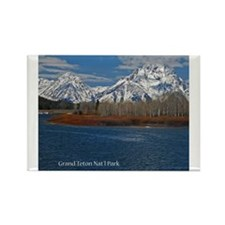 Cute Tetons Rectangle Magnet