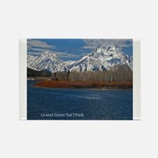 Cute Grand teton national park Rectangle Magnet
