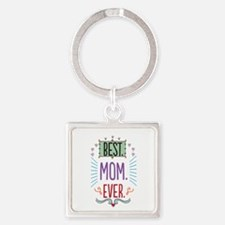 Cute Best Square Keychain