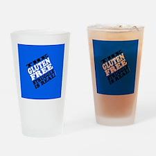Gluten Free Struggle Tees Drinking Glass