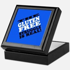 Gluten Free Struggle Tees Keepsake Box
