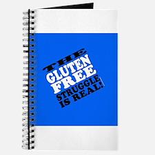 Gluten Free Struggle Tees Journal