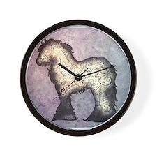 Purple Gypsy Proverb Wall Clock