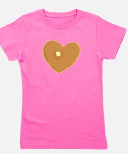 Funny I love butter Girl's Tee