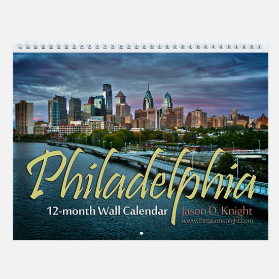 Philadelphia 12-Month Wall Calendar