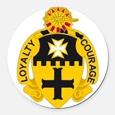 5th Cavalry Regiment.png Round Car Magnet