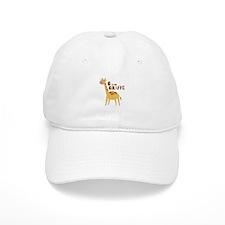 G for Giraffe Baseball Baseball Cap